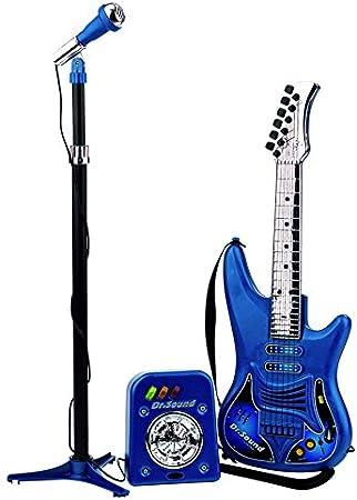 REIG- Set con Guitarra, Micrófono y Bafle, 63 x 20 x 82 cm (REIG810): Amazon.es: Juguetes y juegos