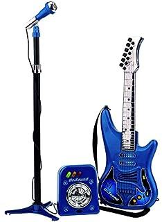 REIG Set con Guitarra, Micrófono y Bafle 63 x 20 x 82 cm REIG810