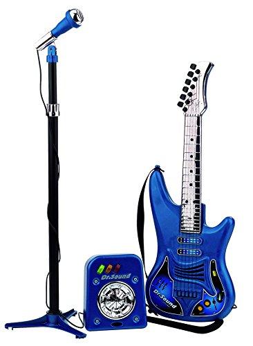 REIG 843 - Sound Gitarre, Mikrofon und Verstärker-Set REIG843