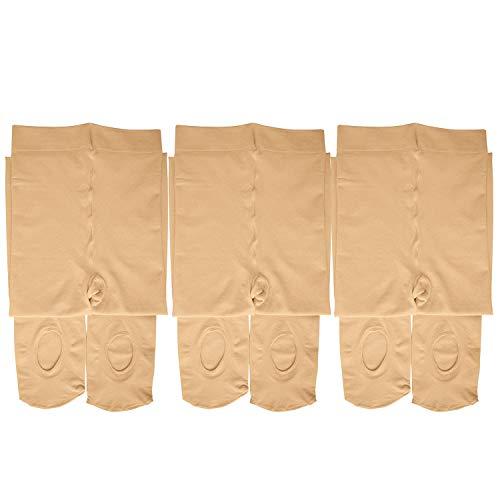 Dancina Dance Tights for Girls Super Soft Everyday Wear Comfortable Stockings S (3-5) Suntan x3 ()