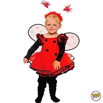 Mottoland Kinder Kostum Baby Marienkafer Kleinkind Madchen Kleid