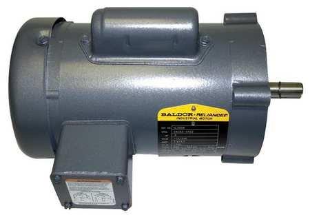 Baldor VL3504 General Purpose AC Motor, Single Phase, 56C Frame, TEFC Enclosure, 1/2Hp Output, 1725rpm, 60Hz, 115/230V Voltage