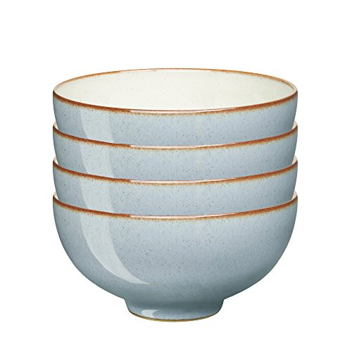 Denby USA Heritage Terrace Rice Bowls (Set of 4), Multicolor