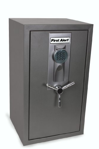 First Alert 2583DF Executive Safe with Digital Lock, 6.7 Cubic Foot, Gunmetal Fine Texture
