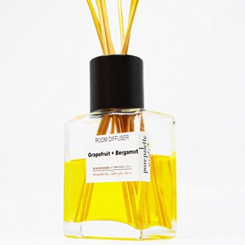 Grapefruit Bergamot Room Diffuser Set Handmade in Virginia, U.S.A