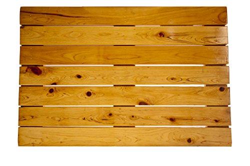 Acacia Floors - Premium Wooden Bath Mat and Wood Shower Mat