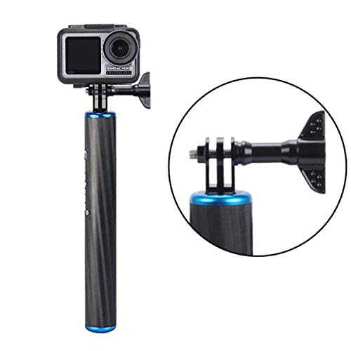Smatree F1 Waterproof Floating Carbon Fiber Hand Grip Compatible for Gopro Max/ GoPro Hero 8/7/6/5/4/3/2/1/Session/GoPro Hero 2018