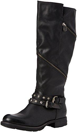 Tom Femme Noir Tailor Souples Bottes 3795614 black Fq7xFwHrX