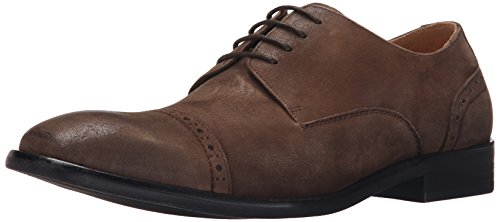 Kenneth Cole New York Men's System-ATIC Oxford, Dark Brown, 7.5 M US