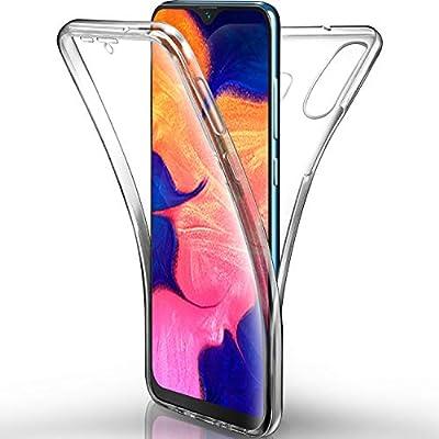 AROYI Funda Samsung Galaxy A10 Transparente,Silicona Doble Cara ...