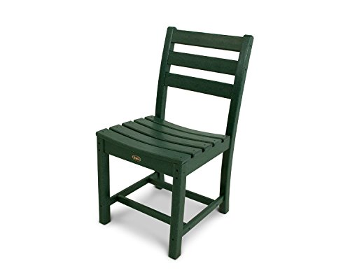 Trex Outdoor Furniture Monterey Bay Dining Side Chair in Rainforest Canopy