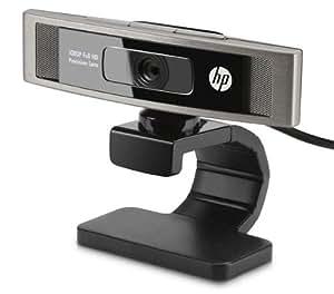 HP HD-5210 - Webcam (1920 x 1080 Pixeles, 30 fps, 1080p, USB 2.0, Negro, CMOS)