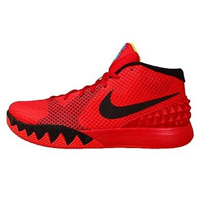 Nike Men\u0027s Kyrie 1 EP, BRIGHT CRIMSON/BLACK-UNIVERSITY RED-BLUE LAGOON, 13  M US