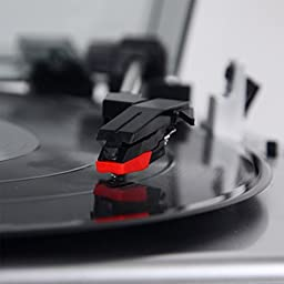 DuaFire Phono Turntable Replacement Needle Magnetic Phono Cartridge