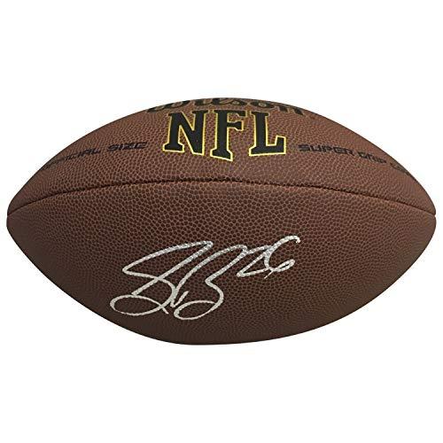 Saquon Barkley New York Giants Autographed NFL Signed Football PSA DNA -