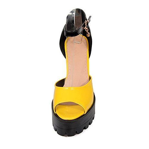 Fashion Heel - Zapatos de tacón  mujer amarillo