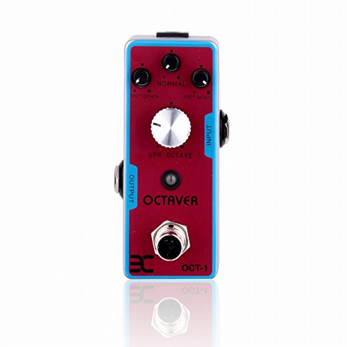 EX Octaver Pedal with Two Low Octaves and One High Octave Pearl Octaver Miniature (Pedal Octaver)