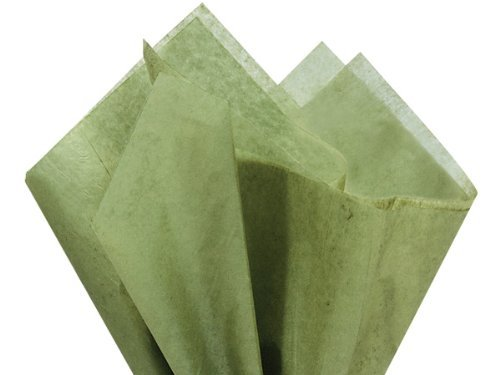 - Tapestry Olive Green Gift Wrap Tissue Paper 20