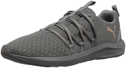 PUMA Women's Prowl Alt Knit Mesh Wn Sneaker, Quiet Shade-Rose Gold, 6 M US ()
