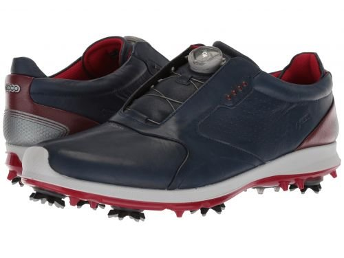 ECCO Golf(エコー ゴルフ) メンズ 男性用 シューズ 靴 スニーカー 運動靴 Biom G 2 Boa GTX - True Navy/Brick [並行輸入品] B07BMS3XFL