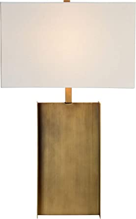 Amazon.com: Acker - Lámpara de mesa (acabado en bronce ...