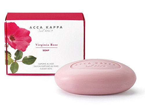 Acca Kappa Soap Collection, Virginia Rose, 5.3oz Acca Kappa Vegetable Soap