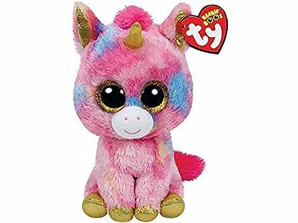 Fantasia Unicornio Peluche 15 cm Beanie Boos Ty Juegos Juguete Idea regalo # AG17