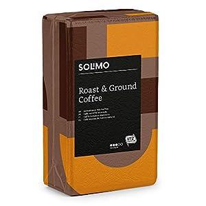 Marchio Amazon - Solimo Caffè macinato compatibile con diverse macchine da caffè - 2 kg (4 x 500g)