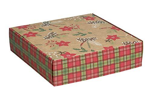 Amazon Com Decorative Shipping Boxes Gloss Finish Holly
