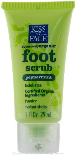 Kiss My Face Foot Scrub Peppermint 4 oz ( Multi-Pack) by Kiss My Face
