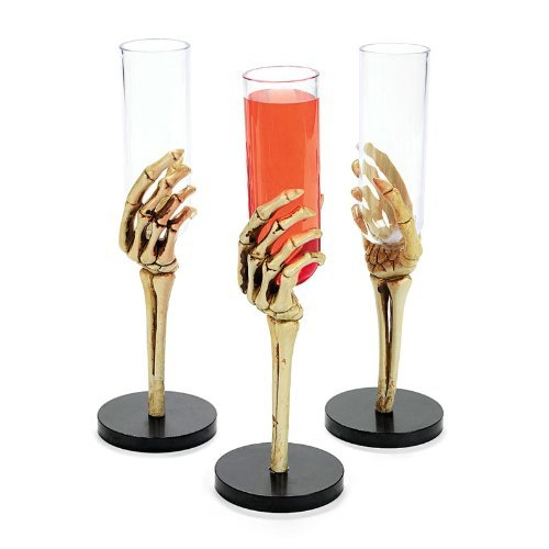 Skeleton Party Hand Glasses (1 dz)
