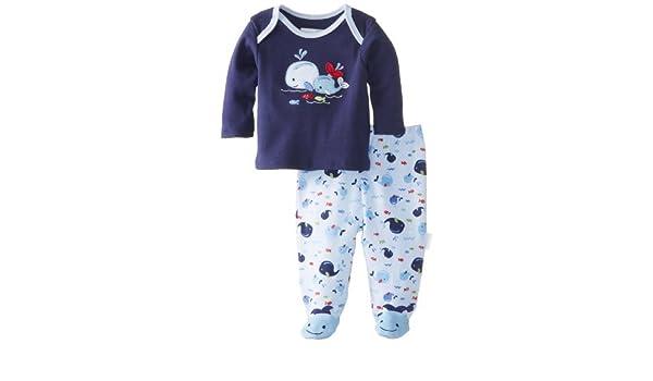 Vitaminas Baby Baby-Boys recién nacido bebé ballena 2 Paquete Conjunto de pijama, azul, nuevo Born Color: Azul marino Tamaño: Recién nacido: Amazon.es: Bebé