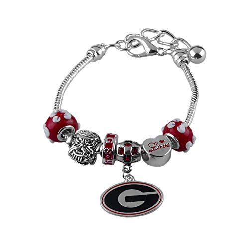 Georgia Bulldogs Bracelets - SANDOL Georgia Bulldogs Armor Charm Bracelet