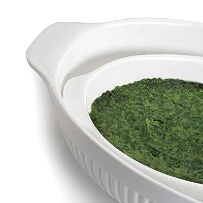 BergHOFF Bianco 14x8.75-inch Oval Baking Dish