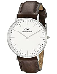 Daniel Wellington Women's 0611DW Bristol Analog Display Quartz Brown Watch