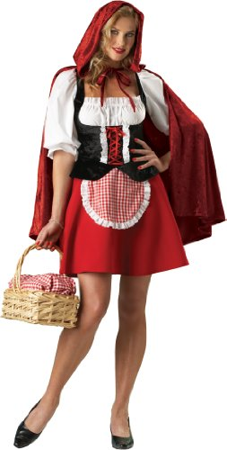 InCharacter Costumes Women's Red Riding Hood Plus Size Costume, (Halloween Costumes Little Red Riding Hood Plus Size)