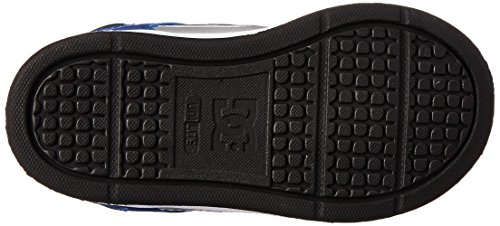 DC - Kleinkinder (F) Rebound Ul Hallo Top Schuhe, EUR: 37, Blue/Black/White