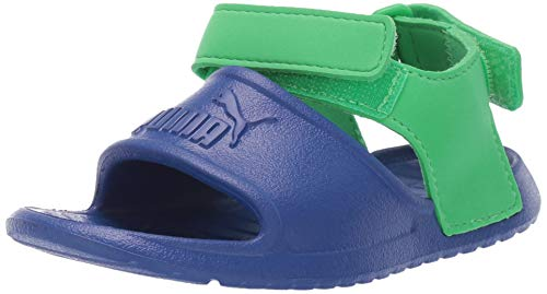 PUMA Baby Divecat Sport Sandal, surf The Web-Irish Green, 8 M US Toddler ()