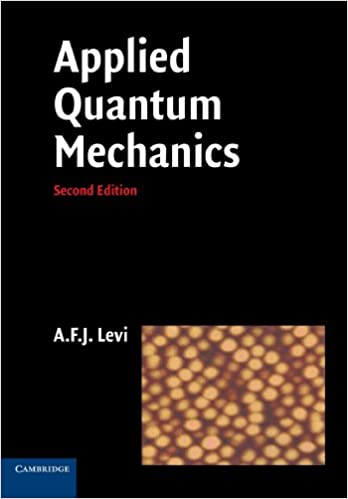 Applied quantum mechanics a f j levi 9780521183994 amazon applied quantum mechanics 2nd edition fandeluxe Gallery