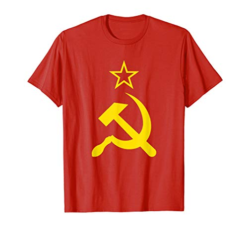 - USSR Hammer and Sickle Soviet Union CCCP Russia T-Shirt