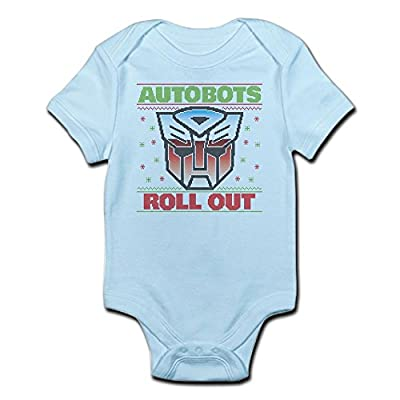 CafePress Transformers Autobots Roll Out - Cute Infant Bodysuit Baby Romper