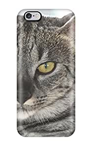 3556440K58600293 Iphone 6 Plus Well-designed Hard Case Cover Savannah Cats Protector