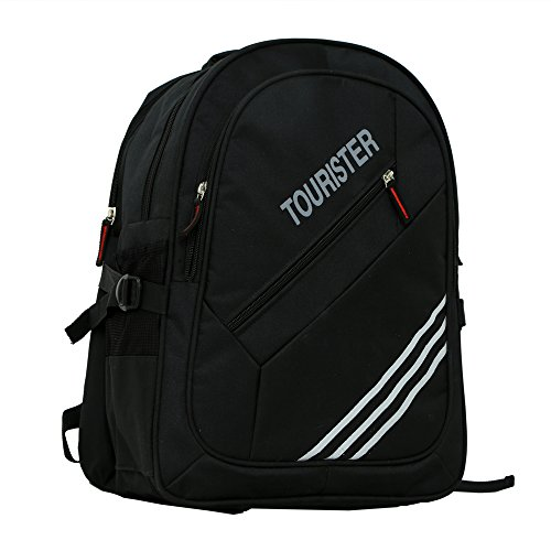 kuwer Industries TOURISTER Schwarz Lässige Tasche, Rucksack
