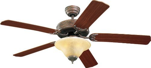 Monte Carlo 5HS52TBS-L, Homeowner's Deluxe, Ceiling Fan, 52 Span, Tuscan Bronze by Monte Carlo