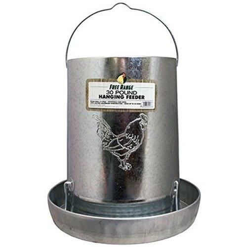 galvanized metal chicken feeder - 2