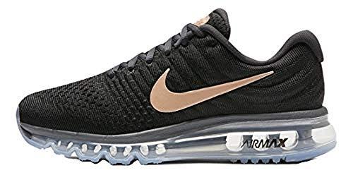 1cf0e83d54a Nike Air Max 2017 Women s Running Shoes 849560 008 (9 B(M) US) Black