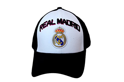 8c21a334501 New Real Madrid Soccer Cap Hat Adult Size Adjustable Curved Bill - Buy  Online in Oman.