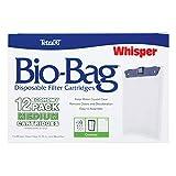 Tetra Aquarium Filter Cartridge, Bio-Bag Medium, 12 pack for Whisper