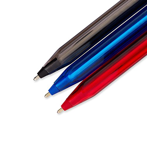 Paper Mate InkJoy 100ST Ballpoint Pen, Business Colors, 12-Pack