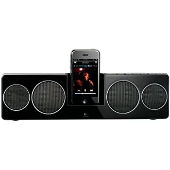 81e752f391b Logitech Pure-Fi Anywhere 2 Compact Docking Speakers for iPod and iPhone  (Black)